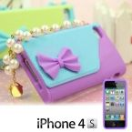 Iphone Handbag Case with Pearls