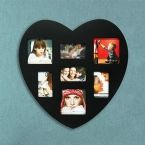 Heart Shaped Wooden Frame 7 Photos