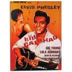 Elvis Presley Kid Galahad Picture on Linen Canvas 50 x 70