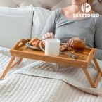 Bamboo Tray with Legs