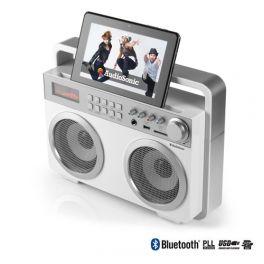 AudioSonic RD1559 Retro MP3 Bluetooth Radio