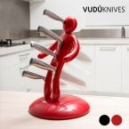 Vudú Knives Knife Holder & Knife Set (5 pieces)