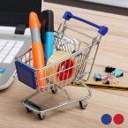 Mini Metal Shopping Trolley